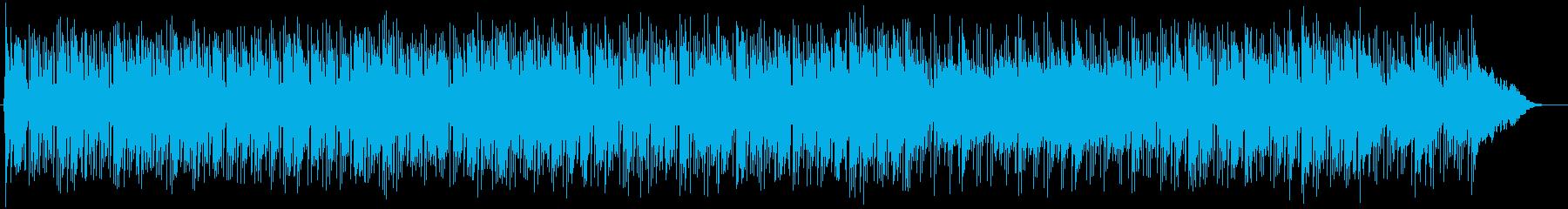 ゆるやかで優しいピアノバラードの再生済みの波形