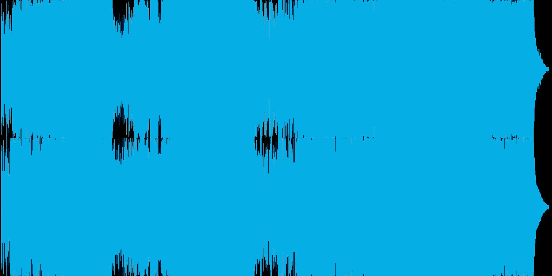 サンプラーの使い方などがよくわからずと…の再生済みの波形