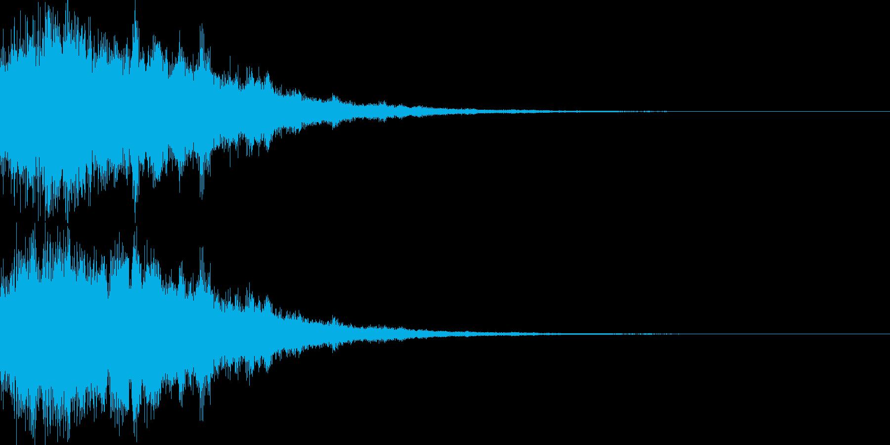 光魔法回復キラーンシャーンの再生済みの波形