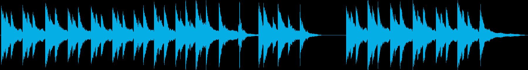 【劇伴】サスペンス_ミステリー_ピアノの再生済みの波形