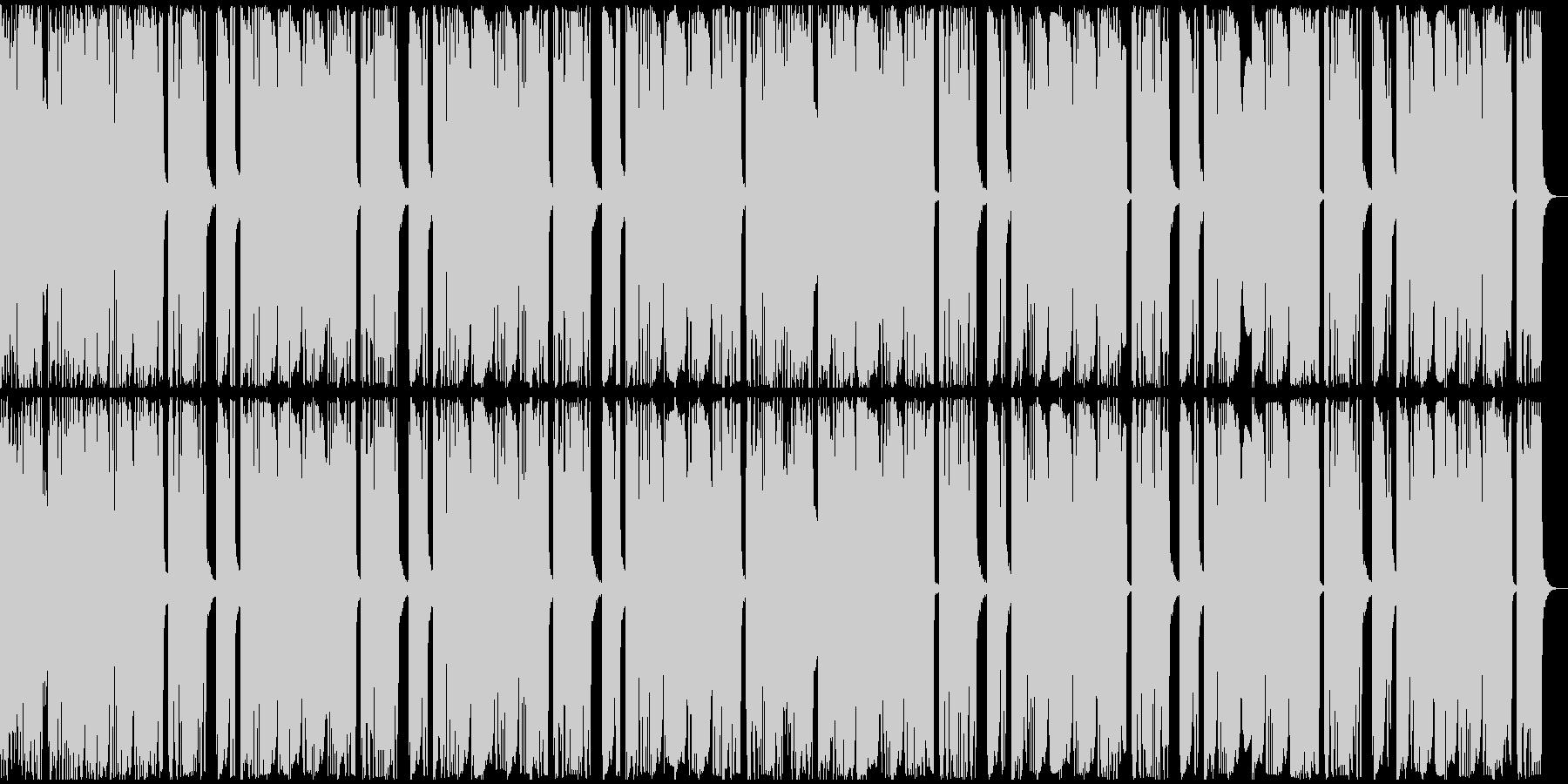 【アンビエント】ロング2、ジングル2の未再生の波形