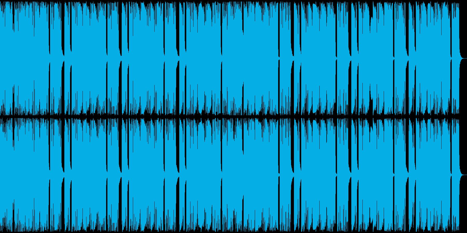 【アンビエント】ロング2、ジングル2の再生済みの波形