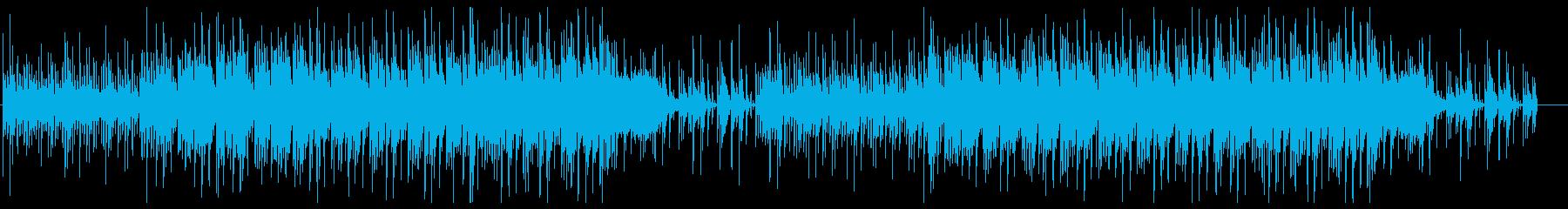 宇宙的なエレクトロ 緊迫感 サウンドロゴの再生済みの波形