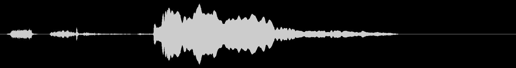 寂しい時のトイプードルの鳴き声3【犬】の未再生の波形