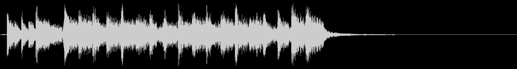 オールドスクールなロック系アイキャッチの未再生の波形