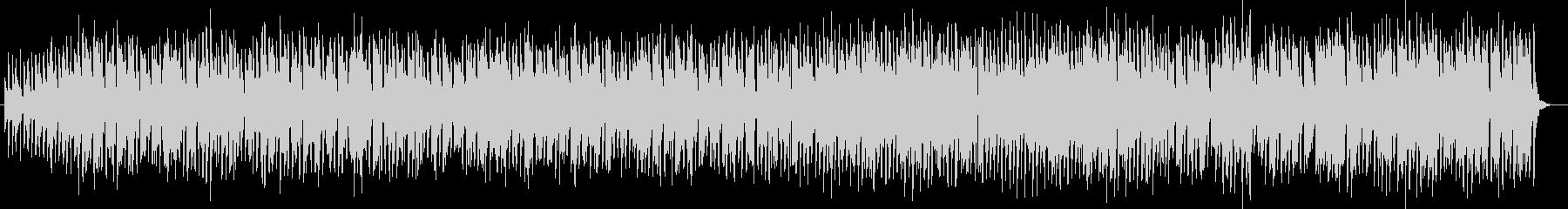 軽快なアコーディオンワルツの未再生の波形