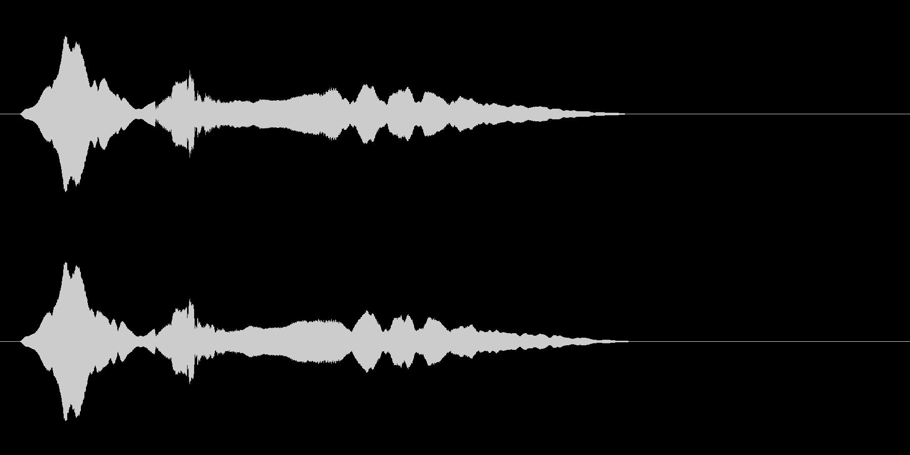 尺八 生演奏 古典風 残響音有 #17の未再生の波形