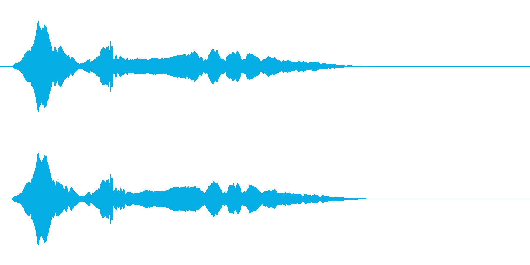 尺八 生演奏 古典風 残響音有 #17の再生済みの波形