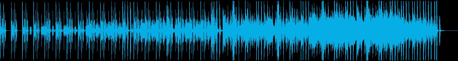 クールでスタイリッシュなエレクトロの再生済みの波形