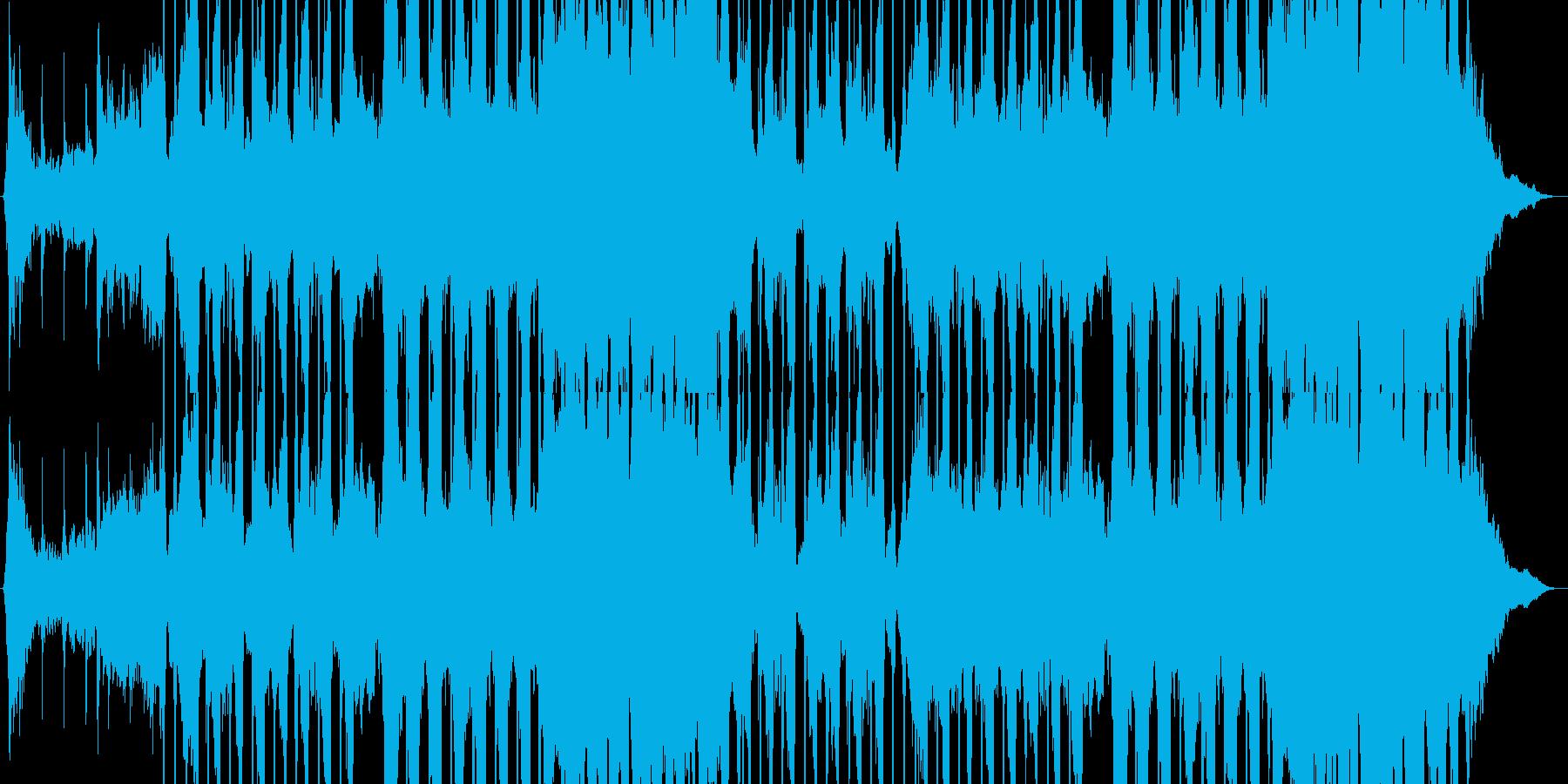 スタイリッシュで雰囲気のある岩の再生済みの波形