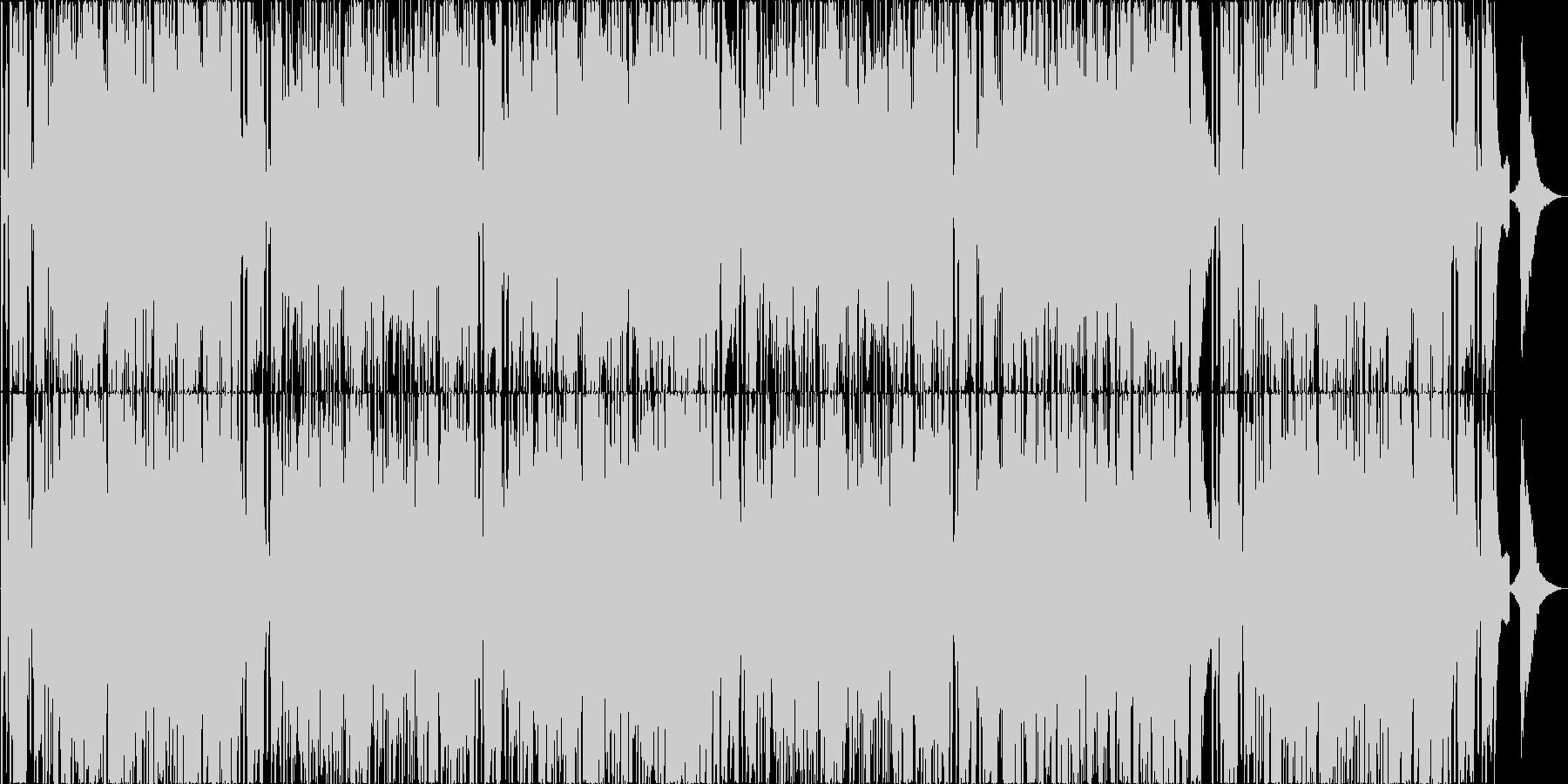 日常使えるゆったり軽いスムースジャズの未再生の波形