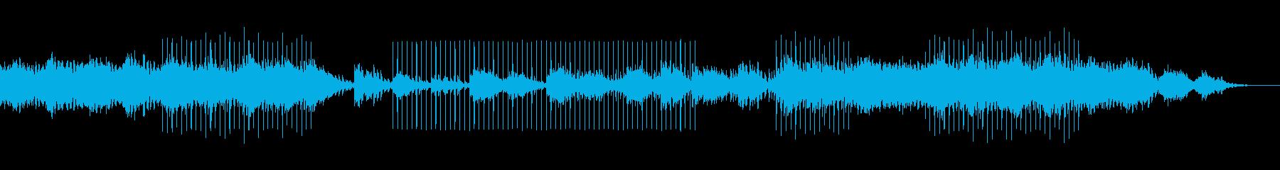 怪しげでミステリアスなミュージックの再生済みの波形
