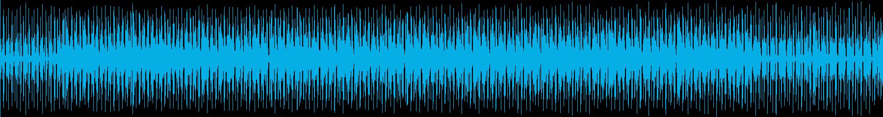 ゆったりとしたブレイクビートです。の再生済みの波形