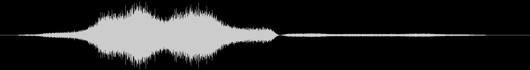 Python、ビルマのヒス。息を吸...の未再生の波形