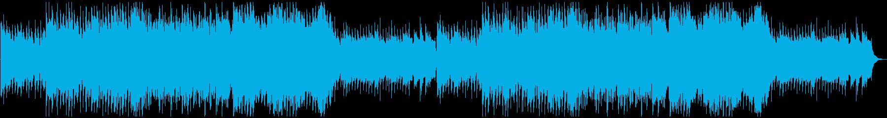 シネマティック造語BGMテンポ遅めの再生済みの波形
