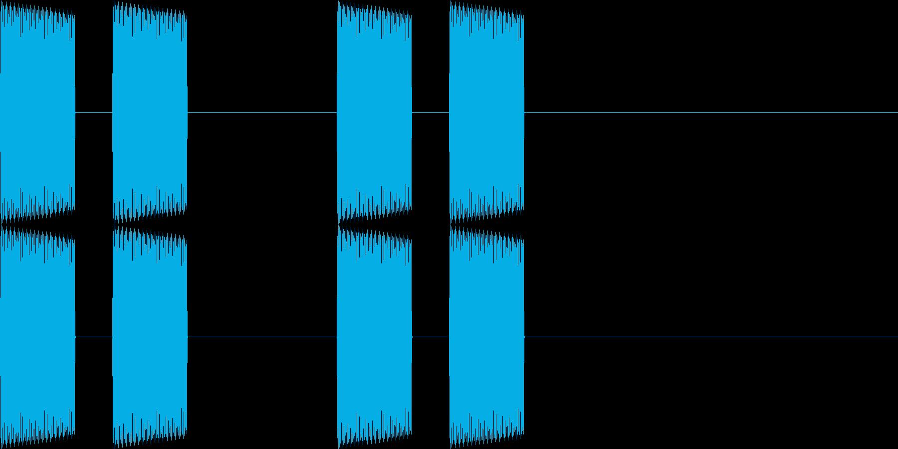 電話・通知音・ピーピーの再生済みの波形