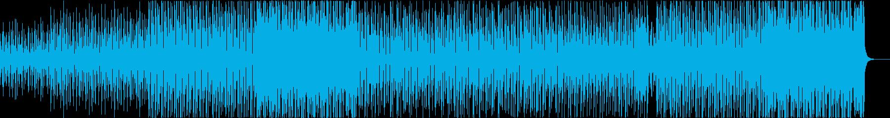 灼熱の夏 爽やか トロピカルハウスの再生済みの波形