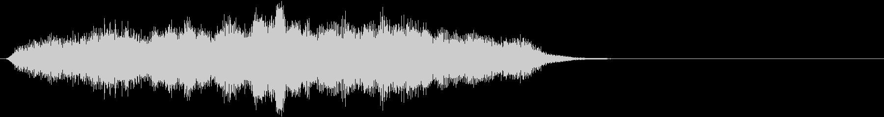 音楽ロゴ;シンセサイザー、オープン...の未再生の波形