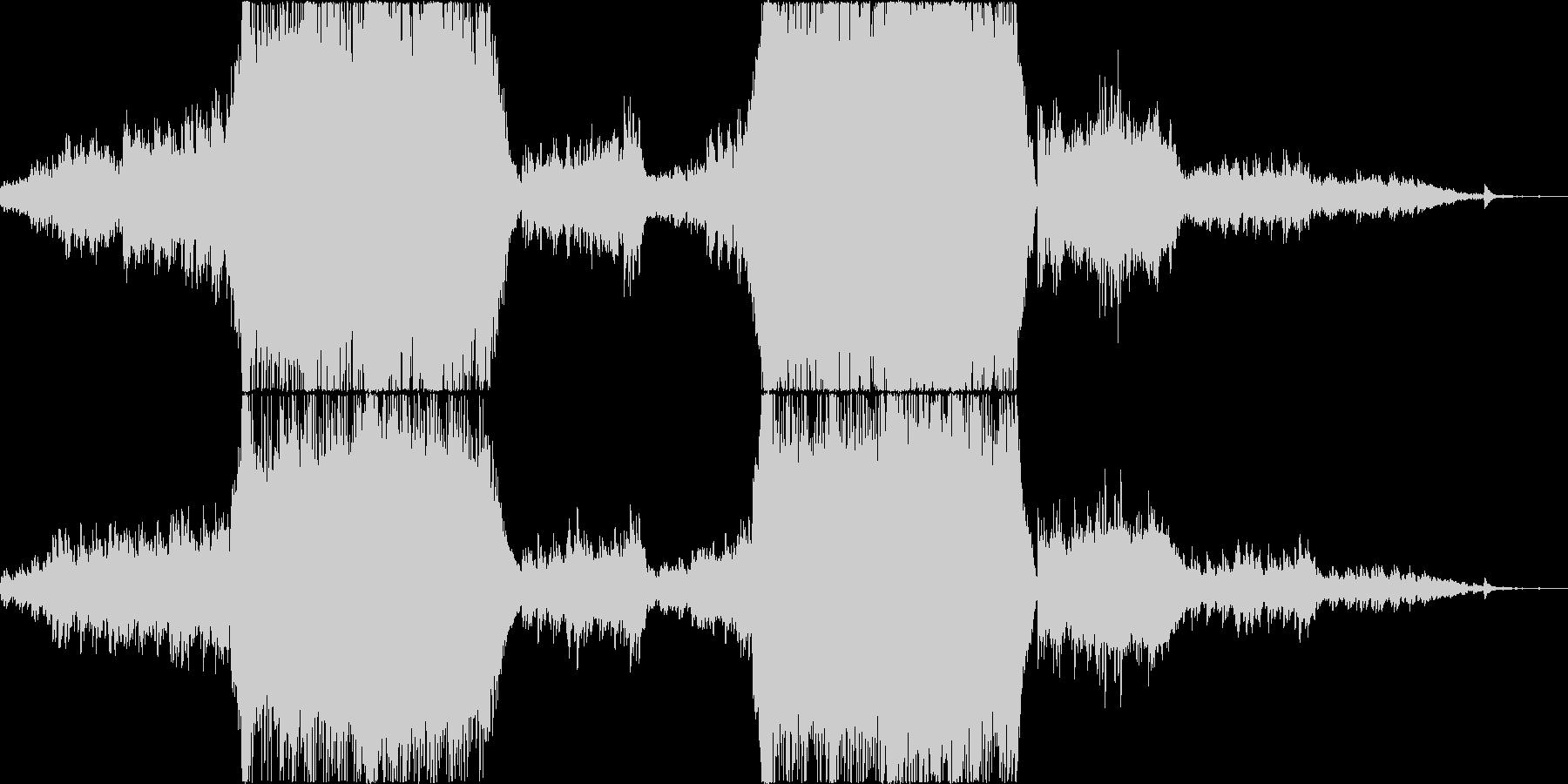 映像映えのする感動壮大系オケの未再生の波形