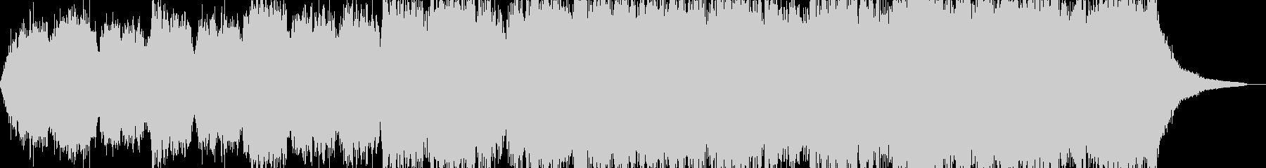 暗く絶望しているような雰囲気のBGMの未再生の波形