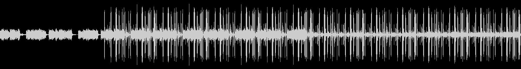 ダーク 洋楽 Trap ループの未再生の波形