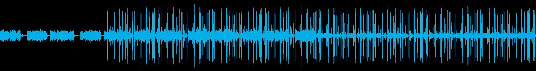 ダーク 洋楽 Trap ループの再生済みの波形