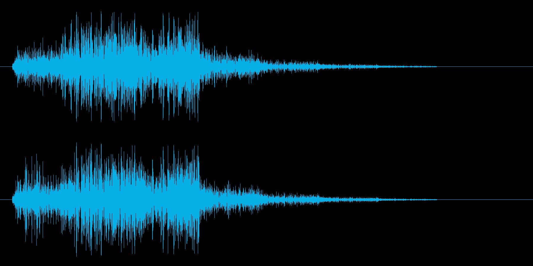 ピシュン(ロープの音)速いの再生済みの波形