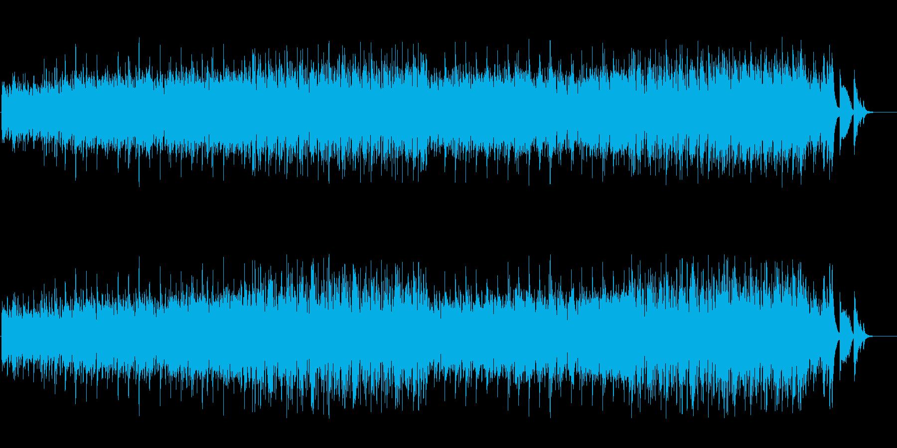 ムーディーなポップス(フルサイズ)の再生済みの波形