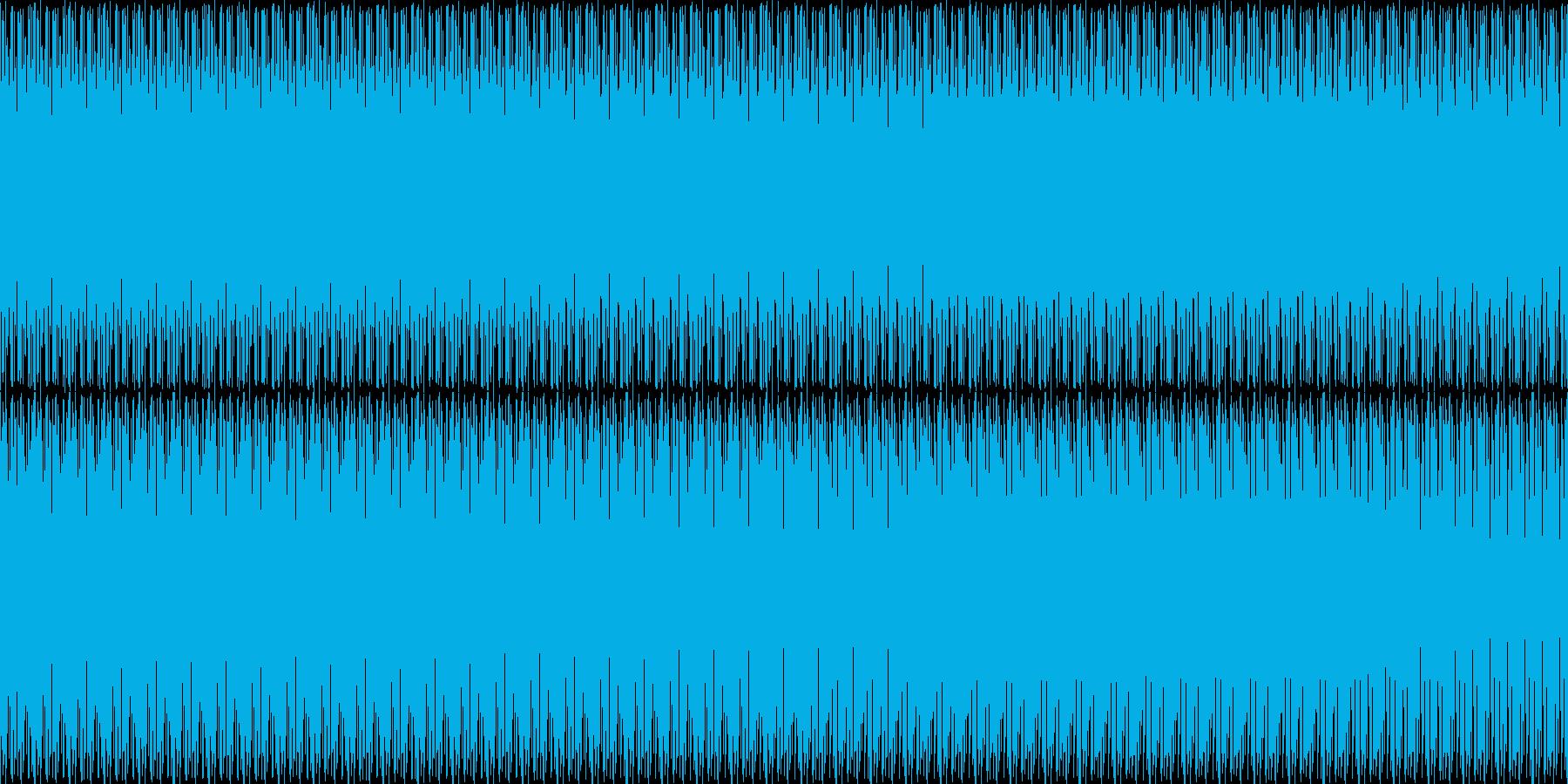 ラテン調のドラムにアジアンなストリング…の再生済みの波形