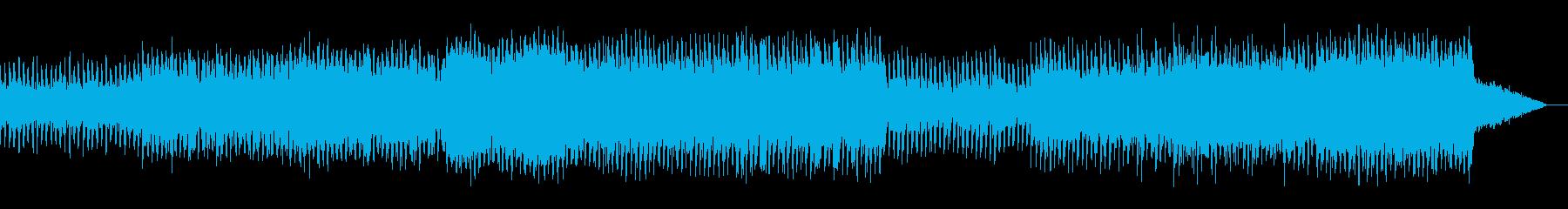 ダークでサイキックなトランスの再生済みの波形