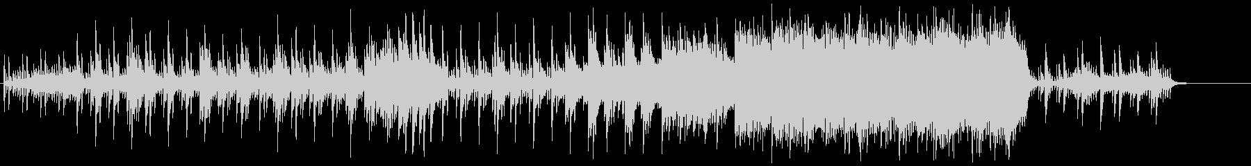 ピアノ主体の和風ホラー、伝奇系 2の未再生の波形