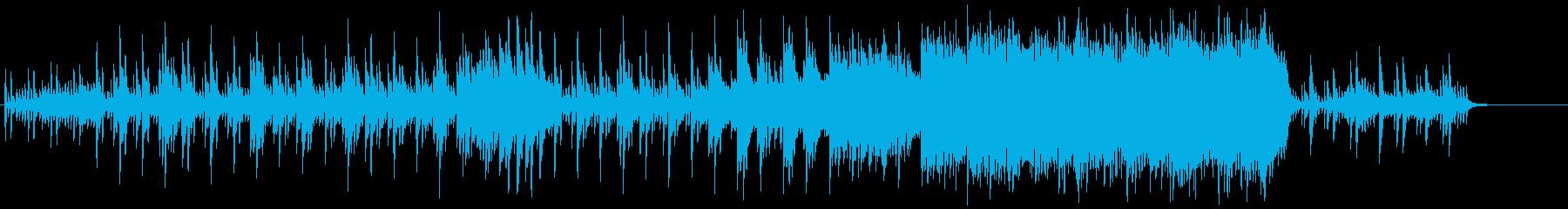 ピアノ主体の和風ホラー、伝奇系 2の再生済みの波形