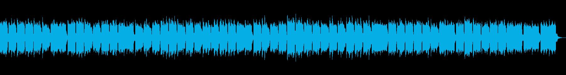 かわいい3拍子のオルゴールの再生済みの波形