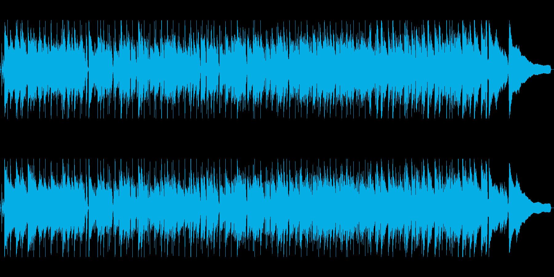明るい前向きなピアノジャズの再生済みの波形