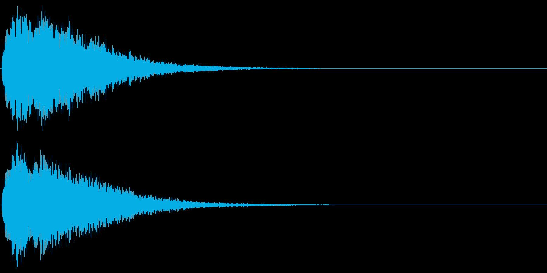 キラキラ☆ピキーン(星の輝き 魔法)06の再生済みの波形