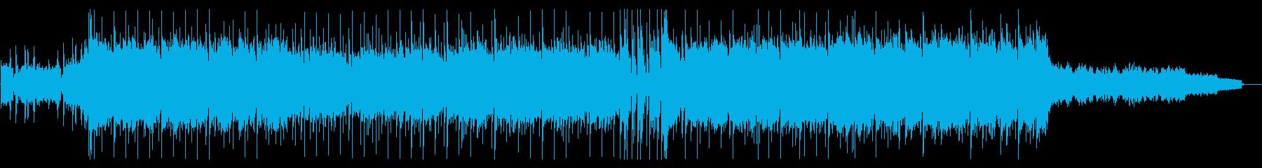スタイリッシュなHIPHOPエレクトロの再生済みの波形