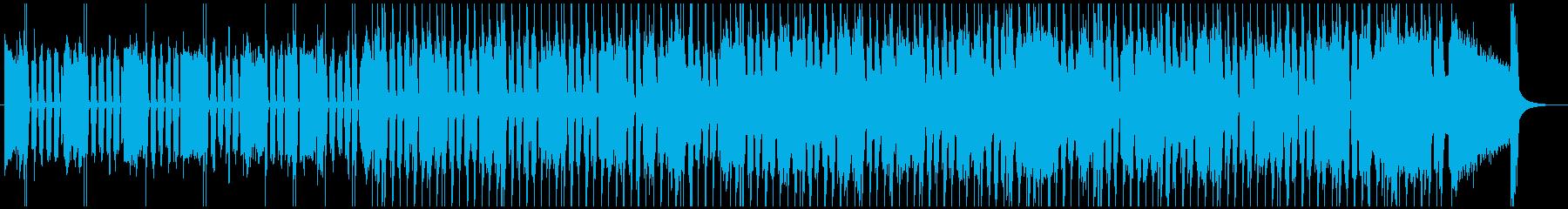 とにかくシンプルなギターのスローブルースの再生済みの波形