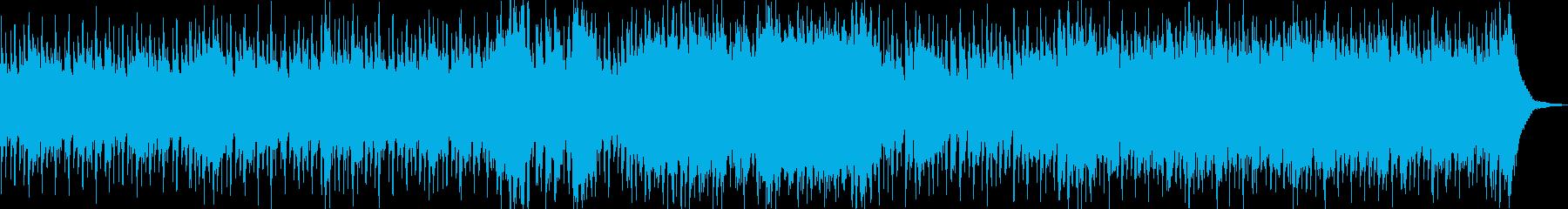 心拍数が上がる楽曲です。 そのままルー…の再生済みの波形