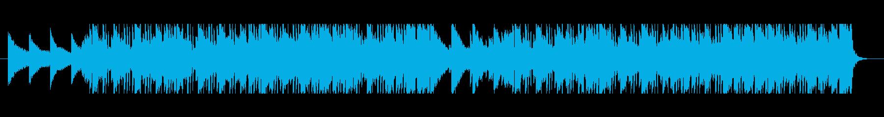 おしゃれなLo-Fi HipHopの再生済みの波形