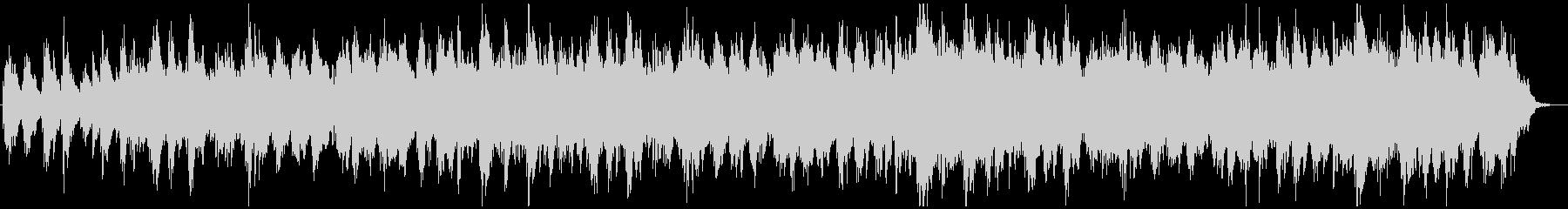 アジアン、アンビエント系BGMの未再生の波形