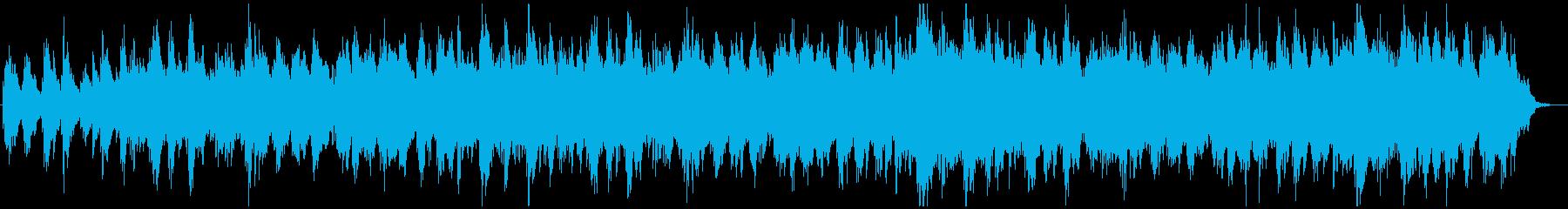 アジアン、アンビエント系BGMの再生済みの波形