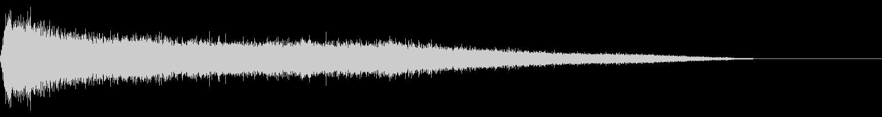 歓声 応援 拍手 大規模 効果音 01の未再生の波形