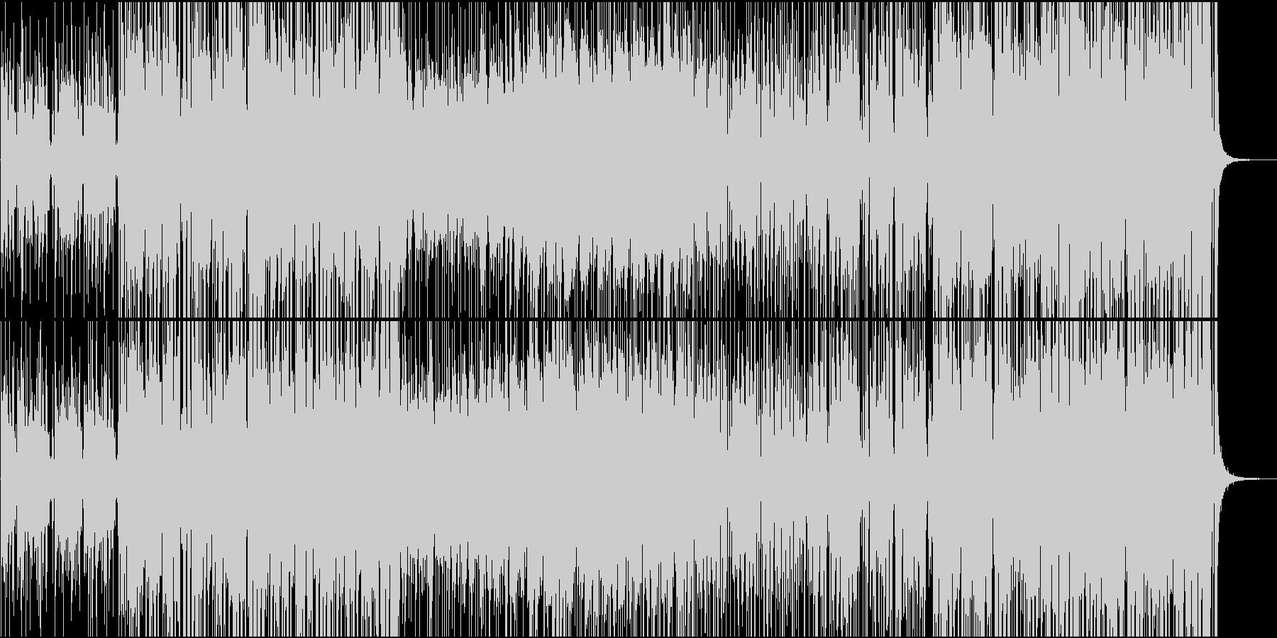 ダンスフロアにての未再生の波形