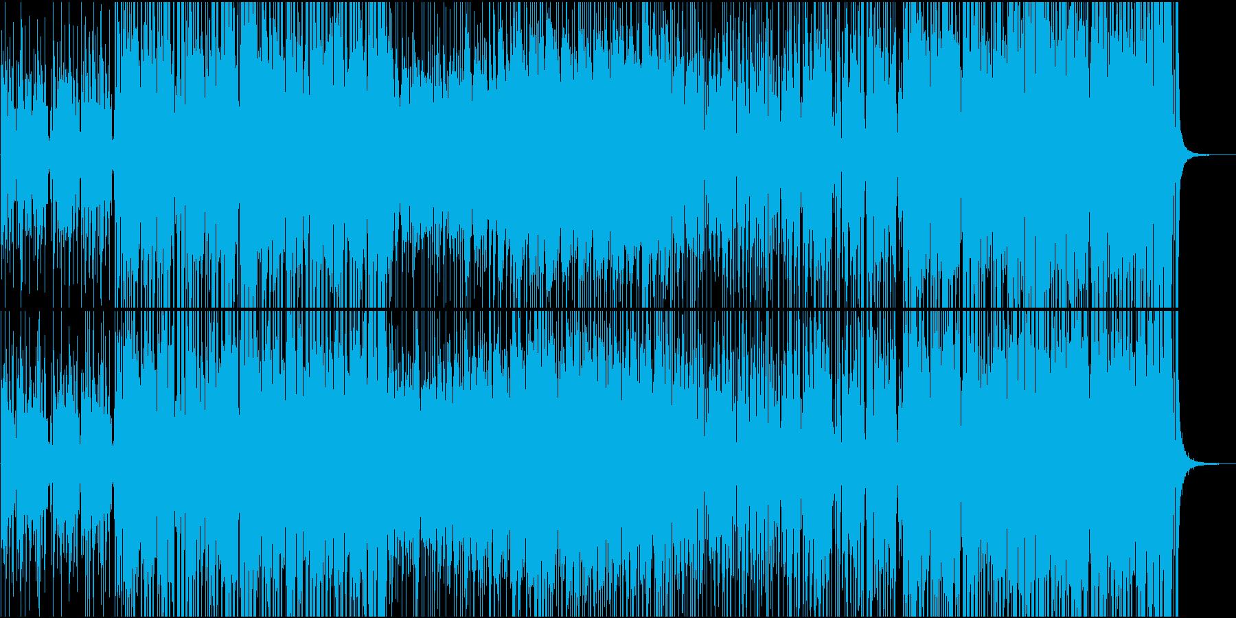 ダンスフロアにての再生済みの波形