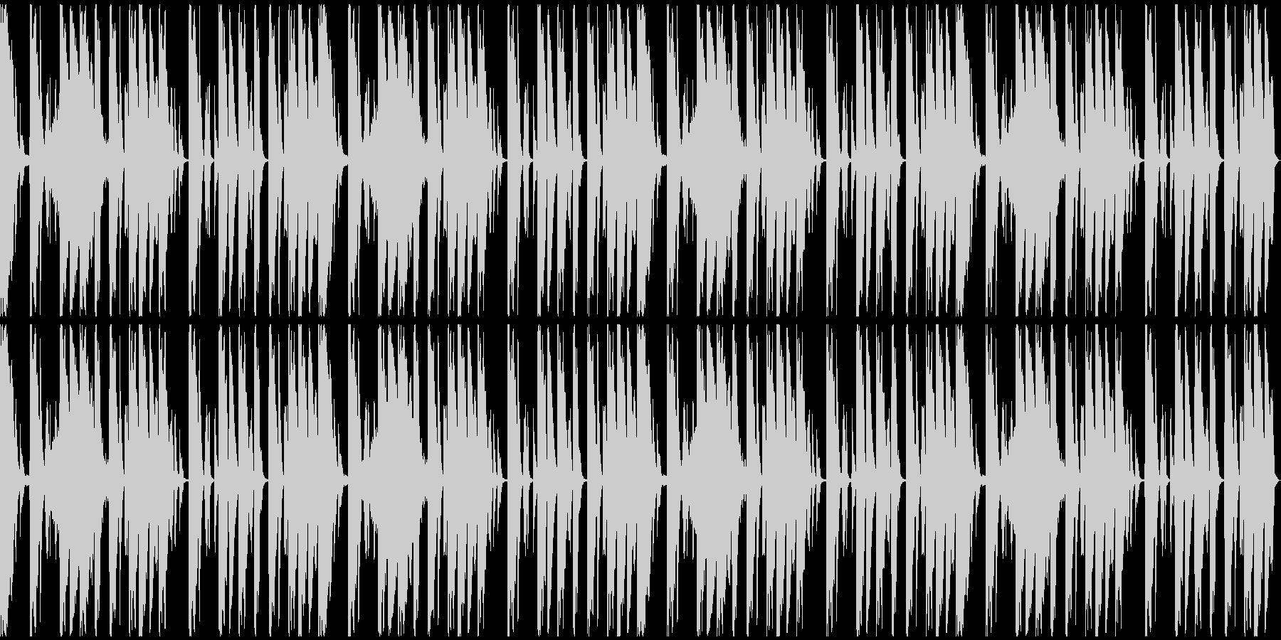 【ミステリアス】ロング1、ミディアム1の未再生の波形