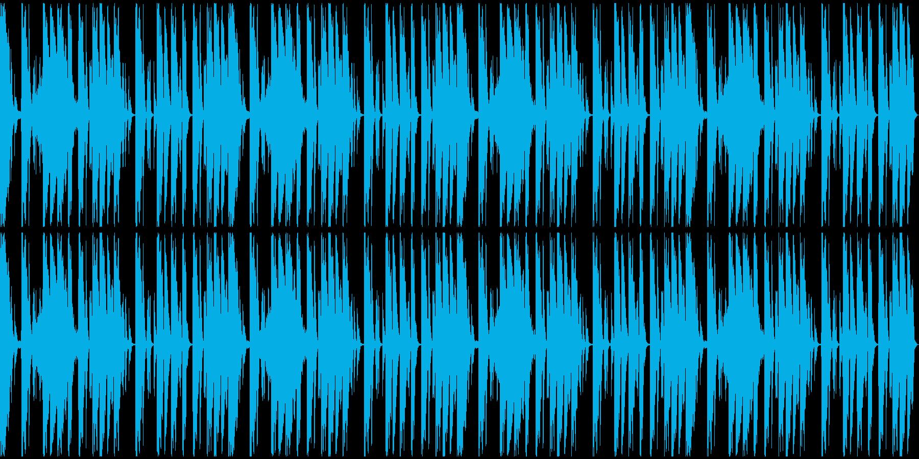 【ミステリアス】ロング1、ミディアム1の再生済みの波形