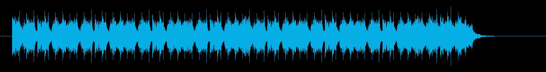 クイーカ(ウホウホ)陽気なラテン サビの再生済みの波形