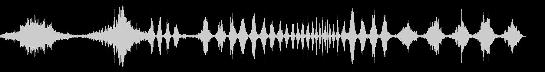 さまざまな旋回スペーススウェーシュ...の未再生の波形