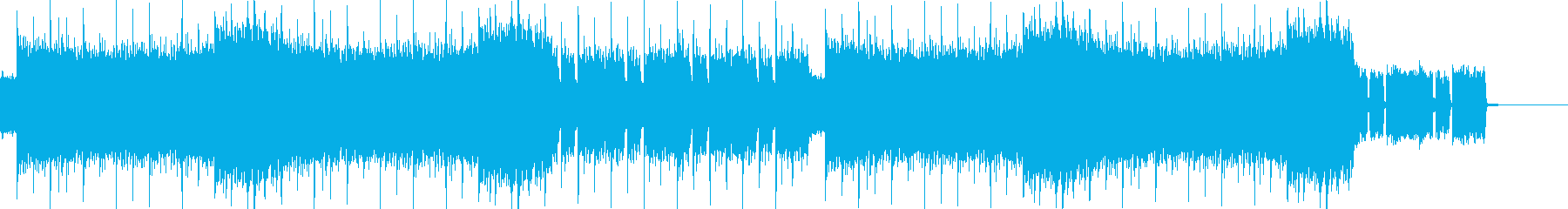 オーケストラ_クワイア_疾走感_ギターの再生済みの波形