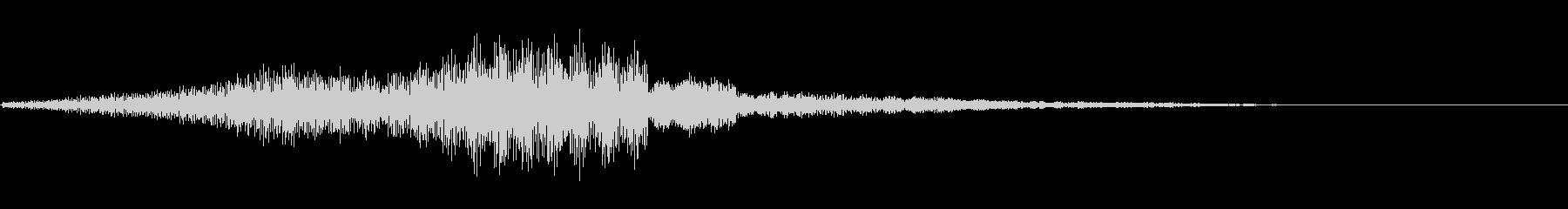ゲームオーバー(ホラー・ノイズ)2の未再生の波形
